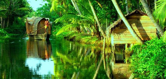 Scenic Beauty of Alleppey